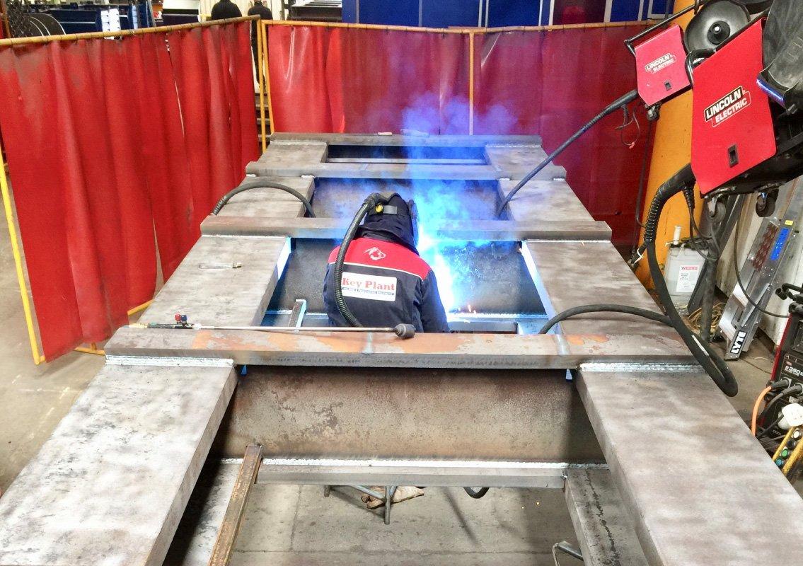 Key Plant robotic weld