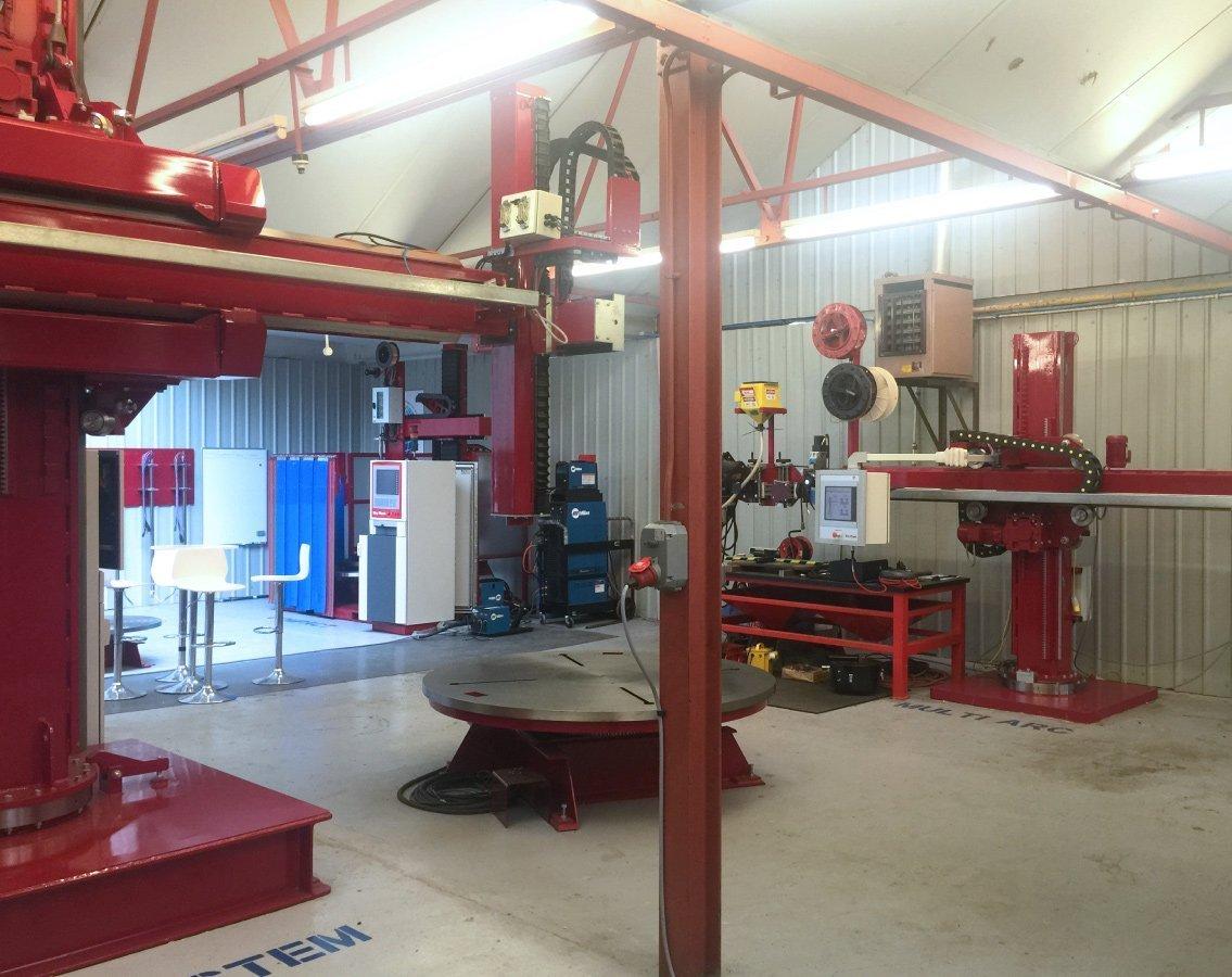 Key Plant weld centre
