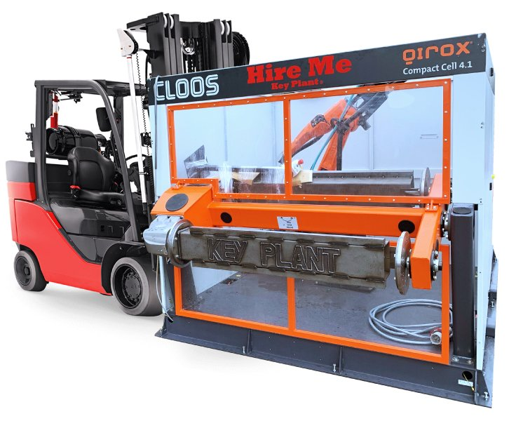 Key Plant robotic welding cells for rental, lease and sale