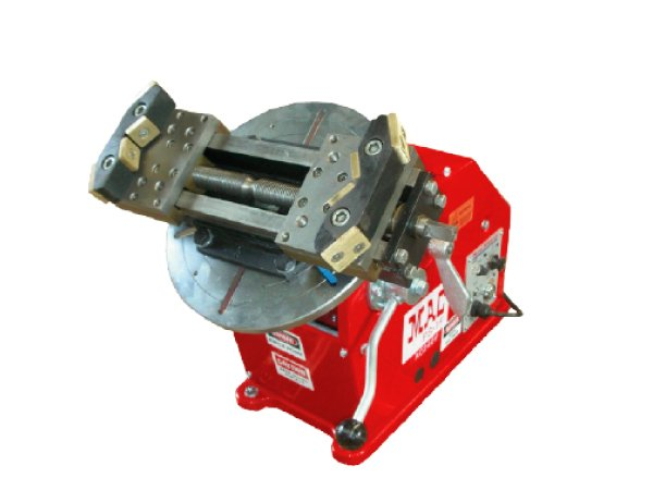 150kg bench welding positioners with 2 jaw HP gripper chuck