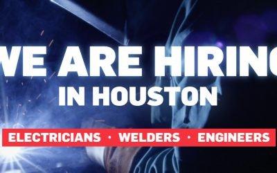 We're Hiring in Houston, Texas