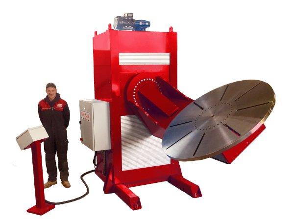 L type welding positioner