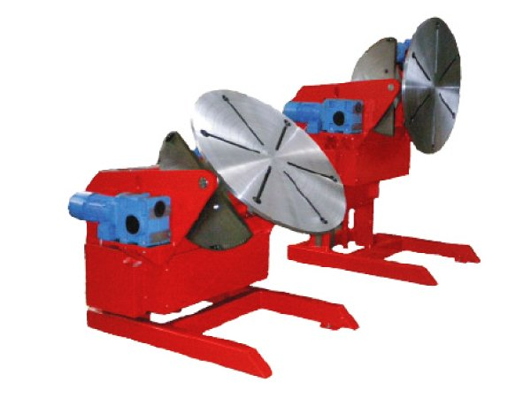 Motorised adjustable height 1 ton and 3 ton welding positioners