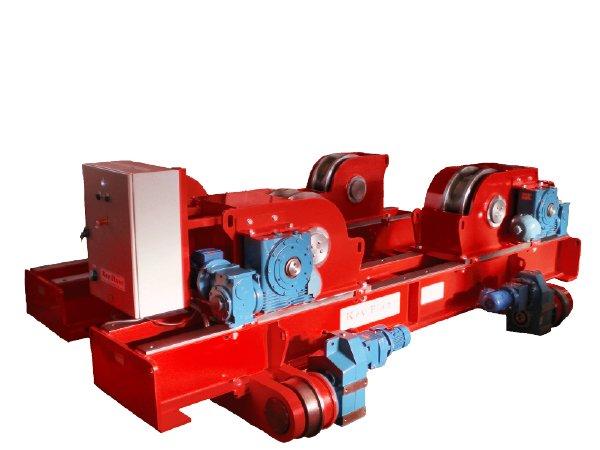 Grooved wheel rotators