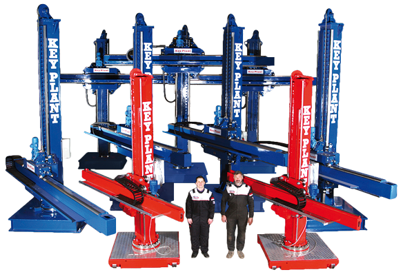 Key Plant welding and positioning equipment