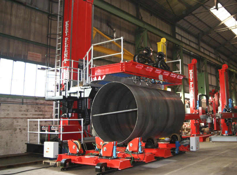 Key Plant welding automation and position equipment