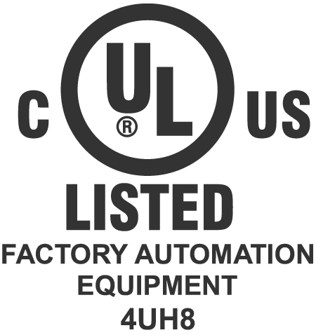 UL C US Factory automation equipment only company in the world