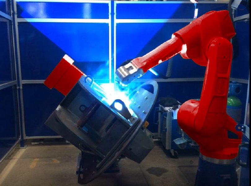 Welding Automation robot welding