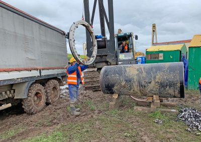 Pipe cutting machinery