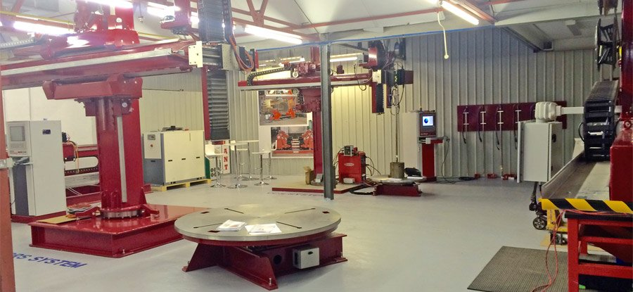 Key Plant research and development weld centre