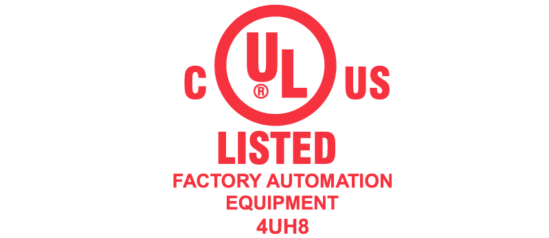 UL C US Factory automation equipment