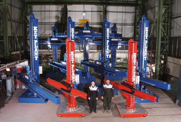 Industry experts in weld automation and material handling