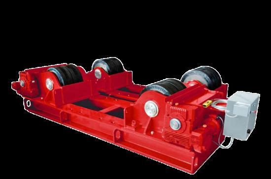 welding rotators by key plant automation