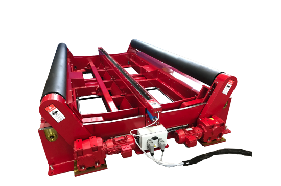 welding turning rolls by key plant automation