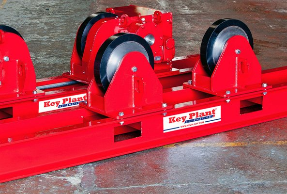 Welding rotator wheel options
